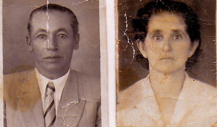 Euclides Ferreira De Alvarenga et Emília De Oliveira, avós maternos de Neide.