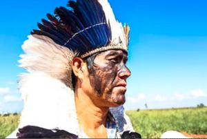 Ládio Veron, chef indien brésilien des Guarani Kaiowá.