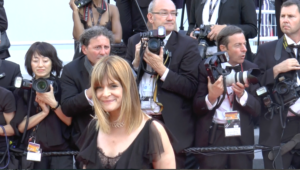 Nastassja Kinski sur le tapis rouge du Festival de Cannes 2017.