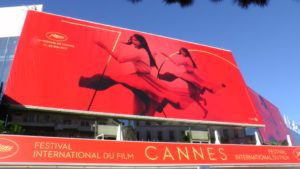 Affiche officielle du 70è festival de Cannes, 2017. © Bronx (Paris), photo: C. Cardinale ©Arichivio Cameraphoto Epoche/Getty Images. Identité visuelle :Philippe Savoir – Filifox.