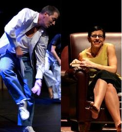 Denise Namura et Michael Bugdahn à Paris